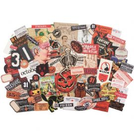 Tim Holtz® Idea-Ology™ - Ephemera Pack - Halloween - TH93963